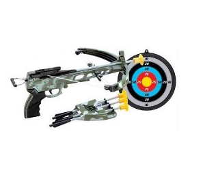 kids military crossbow set