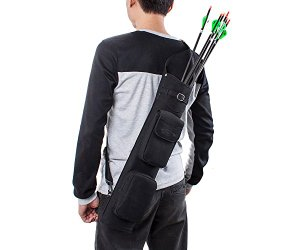 bow and arrow quiver for youth